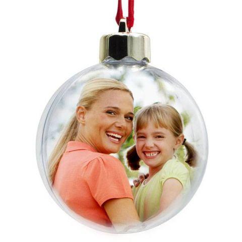 Vánoční ozdoba - plastová