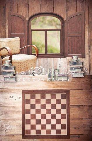 Fotopozadí - spojené - Pokoj šachový 2