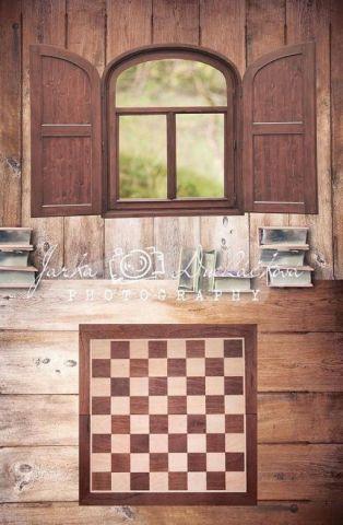 Fotopozadí - spojené - Pokoj šachový 3