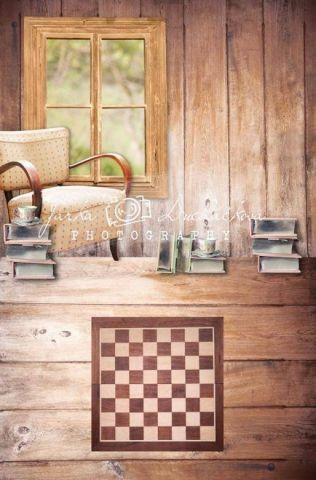 Fotopozadí - spojené - Pokoj šachový 4