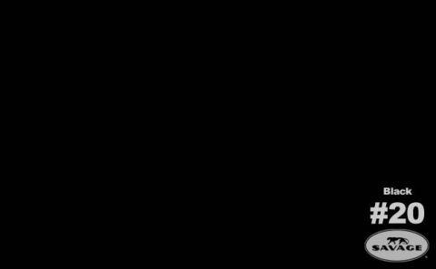 ČERNÉ fotopozadí 2,72x11m SUPER BLACK 50020