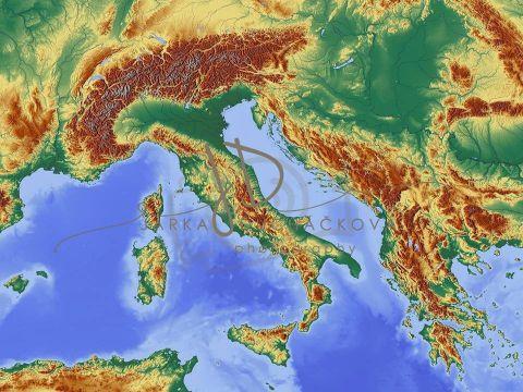 Fotopozadí - MAPA 4