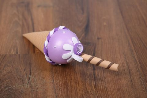Zmrzlina dekorace - fialová