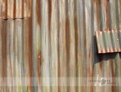 Fotopozadí - vlnitý plech