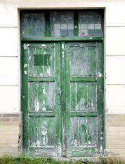 Fotopozadí - DVEŘE 9 - kompletní zelené