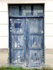 Fotopozadí - DVEŘE 8 - kompletní modré