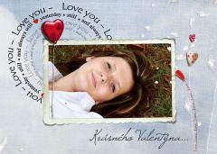 Valentýnská pohlednice s vaší FOTO! 2