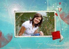 Valentýnská pohlednice s vaší FOTO! 3