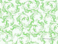 Fotopozadí -  FLORAL  zelený