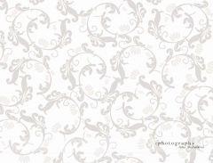 Fotopozadí -  FLORAL  šedý