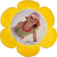 Polštářek slunečnice - 1 x potisk, 100% polyester