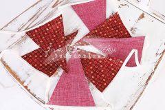 Vlaječky - praporky - vánoční motiv 6