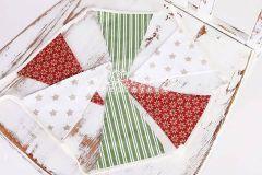 Vlaječky - praporky - vánoční motiv 4