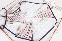 Vlaječky - praporky - vánoční motiv 3