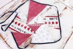 Vlaječky - praporky - vánoční motiv 2