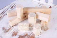 Dřevěné kostky - mix 10ks