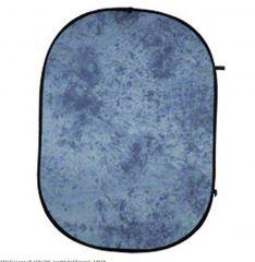 Skládací pozadí 150x200, modré-batikované, 14930