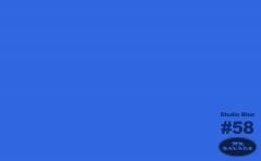 MODRÉ fotopozadí STUDIO BLUE 50058