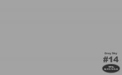 GRAY SKY fotopozadí 2,72x11m 50014