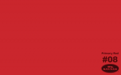 ČERVENÉ papírové fotopozadí PRIMARY RED 50008
