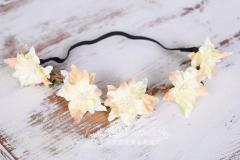 Čelenka květinová pružná 6