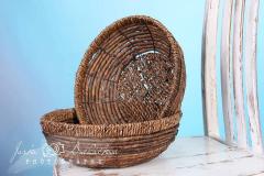 Košík - ošatka kulatá
