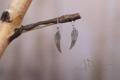 Naušnice závěsné - andělská křídla