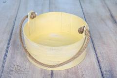 Vědro - 35cm - banánová patina