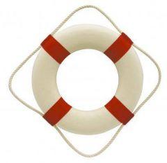 Záchranný kruh - kolo - 30 cm - červená