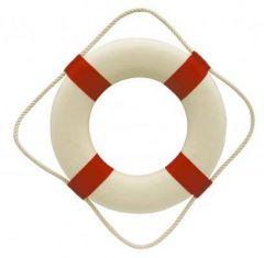 Záchranný kruh - kolo - 14 cm - červený