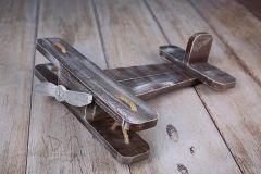 Letadýlko ořechová patina