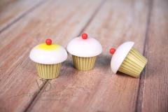 Muffin dřevěný - dekorace