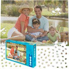 Fotopuzzle 2000 dílků s dárkovou krabičkou s Vaší FOTO