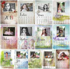 Kalendář stolní měsíční
