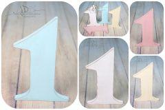 Číslice MAXI jednička modrá