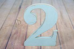 Číslice MAXI dvojka modrá