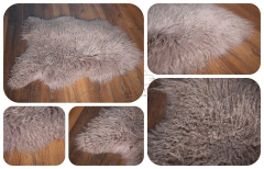 Kožešina islandská ovčí kroucená