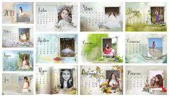 Kalendář stolní měsíční 2