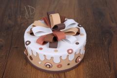 Dort pěnový malý - čokoládový