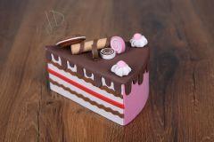 Dort - výkroj dortová růžová