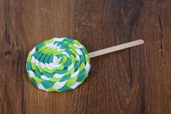 Lízátko dekorace - zelené