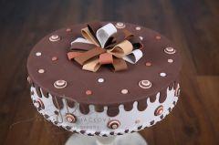 Dort pěnový velký - čokoládový
