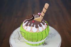 Dortík MAXI muffin zelený