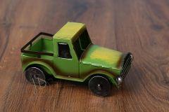 Auto plechové zelené