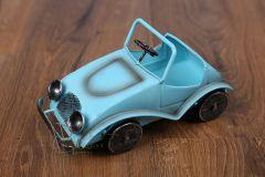 Auto plechové modré