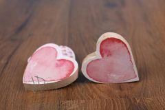 Srdíčko dřevěné do ruky
