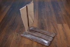 Vor dřevěný s plachtou ořech patina