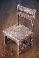 Dětská židlička - ořechová