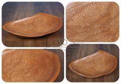 Dřevěná mísa - dlabaná nízká