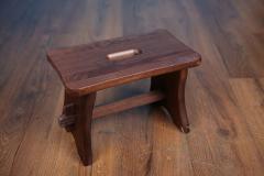 Stolička dřevěná ořech